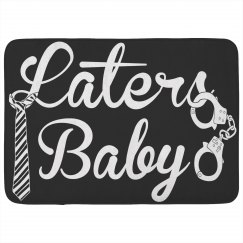 Laters Baby Bath Rug