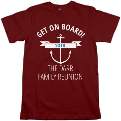 Get On Board Family Reunion Cruise Shirt