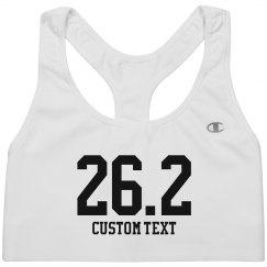 Custom Twenty-Six Marathon Sportsbra