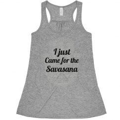 I Just Came For The Savasana Tank