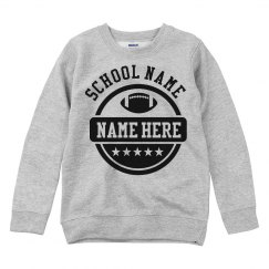 Personalize Your Own School Sweatshirt