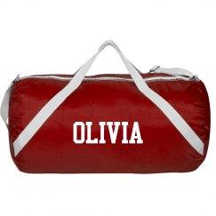 Olivia sports roll bag