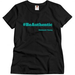 #BeAuthentic