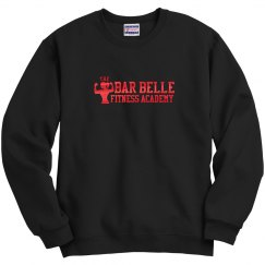 BBFA Crew neck red metallic letters