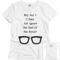 Bookworm For Life shirt