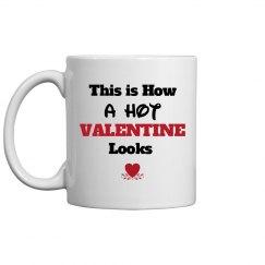 How hot valentine looks