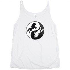 Yin Yang Unicorn Tank Top