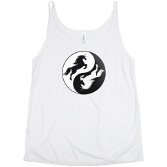 Yin Yang Unicorn Tank Top