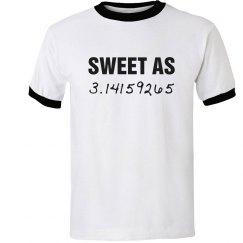 Sweet As Pi Teacher Humor