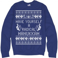 RADICAL HANUKKAH SWEATER