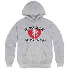 Broken heart - heavymweight hoodie