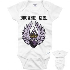 Brownie girl royalty (infant)