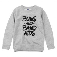 Buns and Bandaids Youth Sweatshirt