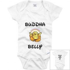 Baby Buddha belly