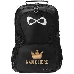 Metallic Custom Crown Backpack