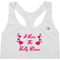 I love to Belly Dance Bra