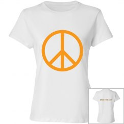 Bliss In Me Women's Peace Tee