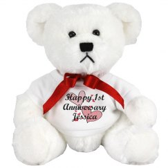 Anniversary Teddy