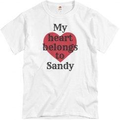My heart belongs to sandy