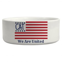 Cat Flag Dish