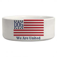 Dog Flag Dish