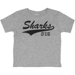 Toddler Tee - Sharks