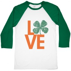 Love St. Pats- Green