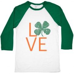 Love St. Pats- Green