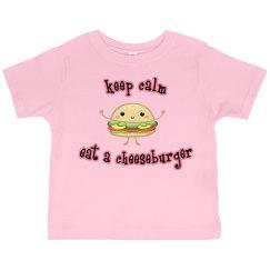 eat a cheeseburger