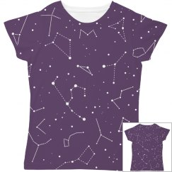 Space And Stars All Over Print