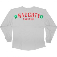 Custom Naughty Christmas Girl