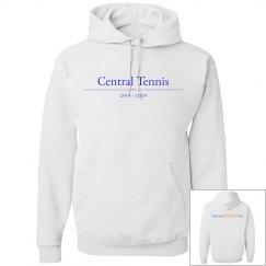 GRRR white unisex hoodie