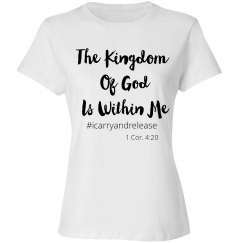 The Kingdom of God is within Me