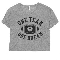 One Team Custom Football