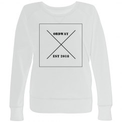 Plus Size Cross Pullover