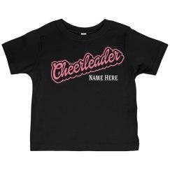 Custom Kids Cheerleader Shirt