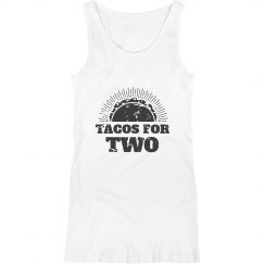 Tacos For Two Cute Maternity Mom