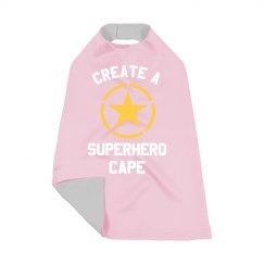 Create a Custom Superhero Kid's Costume Cape
