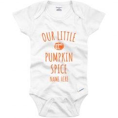 Our Little Pumpkin Spice