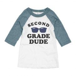 Second Grade Dude Back to School