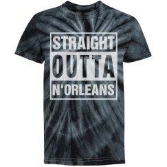 Black Tie Dye Outta N'Orleans