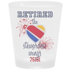 Retired stewardess