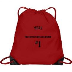 HERS Signature #1 Drawstring Bag