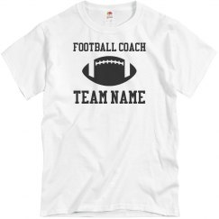 Football Coach Custom T-Shirts
