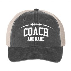 Football Coach Custom Practice Hat