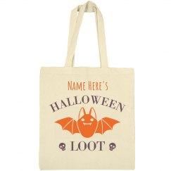 Custom Halloween Loot Bag