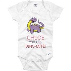 Chloe you are Dino-Mite