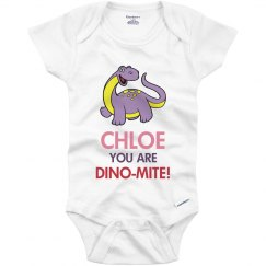 Chloe you are Dino-Mite