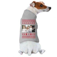 Upload Your Photo Dog Xmas Sweater