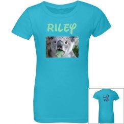 Riley's love shirt